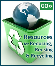 Resources for Reducing, Reusing & Recycling
